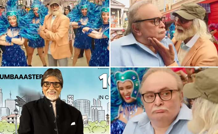 Amitabh Bachchan and Rishi Kapoor's quirky Badumbaaa song from 102 Not Out will erase all your woes!