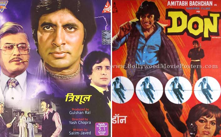 40 years of Don and Trishul.
