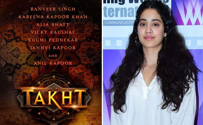 Being part of 'Takht' is big deal for me: Janhvi