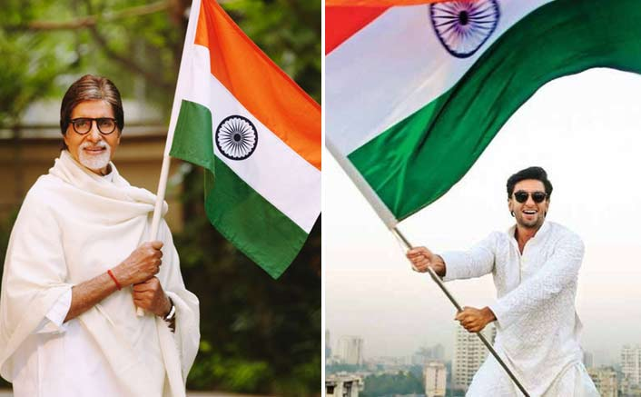 Bollywood celebrities swarm social media on I-Day