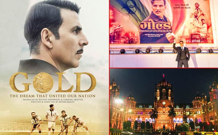 On the 70th anniversary of India winning its first gold medal, the nation has turned GOLD!