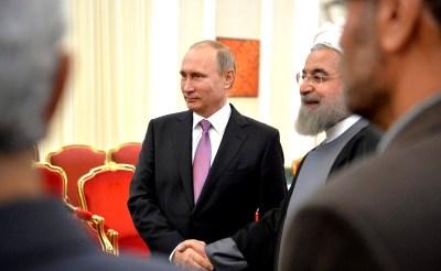 Ιστορική επίσκεψη Πούτιν στο Ιράν