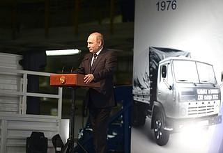 Visit toKAMAZ automobile plant