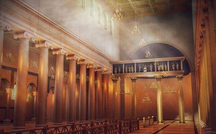 «Затерянный мир» под собором.