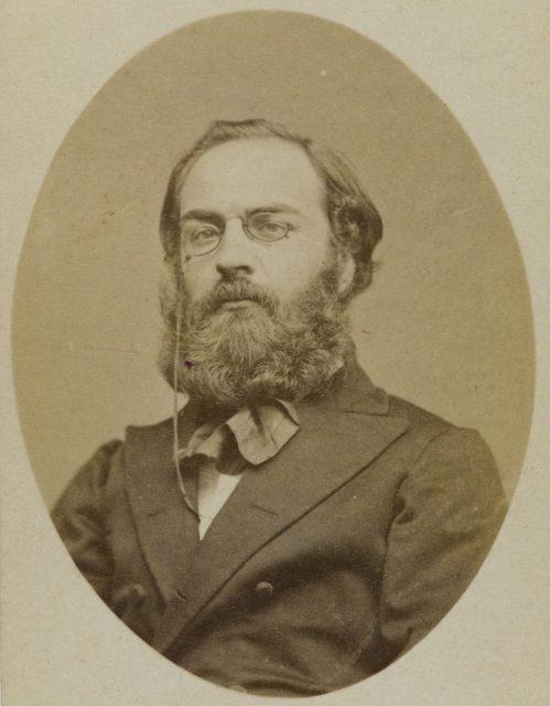 Рауль Риго, фото 1871 года