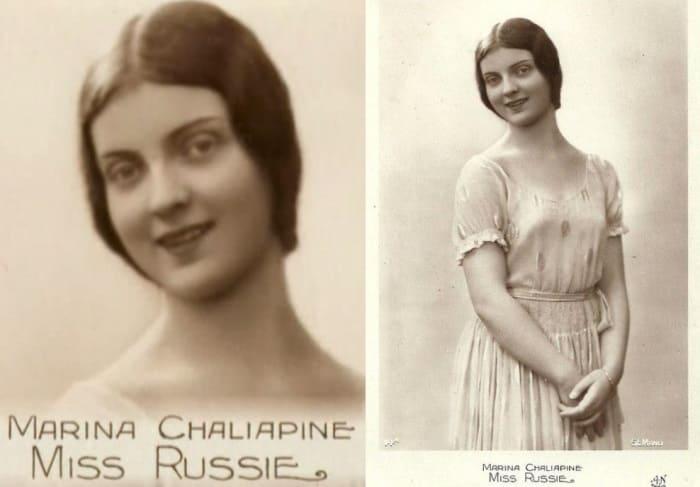 Мисс Россия-1931, Париж   Фото: spektrnews.in.ua и missrussia.ru