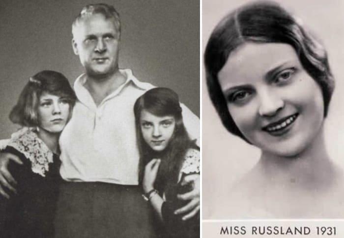 Федор Шаляпин с дочерьми Марфой и Мариной – самой красивой девушкой эмиграции   Фото: lib.rus.ec и top-antropos.com