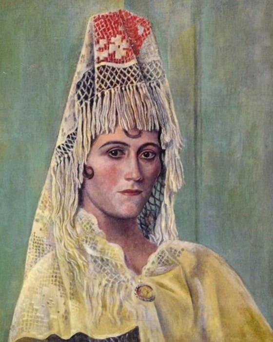 Пабло Пикассо. Ольга Хохлова в мантилье, 1917 | Фото: artchive.ru