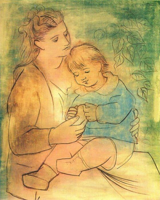 Пабло Пикассо. Мать и дитя, 1922 | Фото: artchive.ru