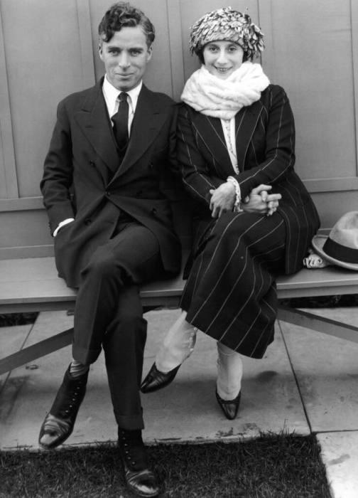 Чарли Чаплин и Анна Павлова.