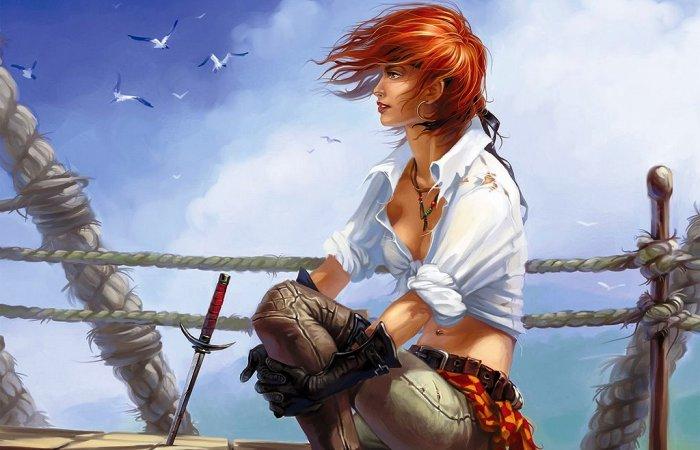 Девушка-пиратка. | Фото: gurlzgroup.blogspot.nl.