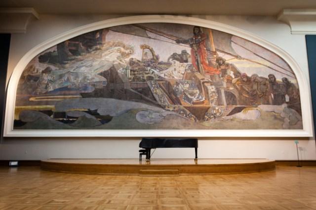 Михаил Врубель, «Принцесса Грёза» в зале Третьяковской галереи. / Фото: www.wikimedia.org