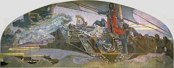 Михаил Врубель, «Принцесса Грёза». / Фото: www.wikimedia.org