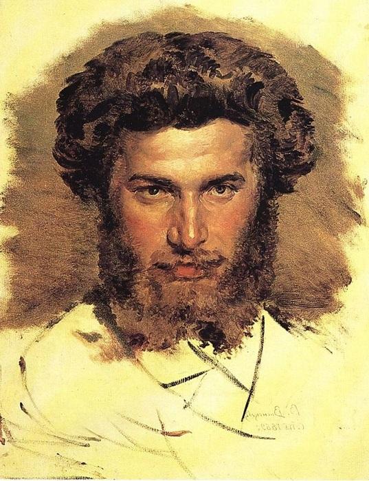 Портрет Архипа Куинджи. Автор: Виктор Васнецов.