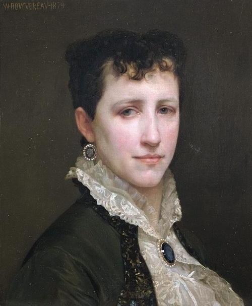 Элизабет Гарднер — вторая жена художника. (1879). Автор: William Bouguereau.