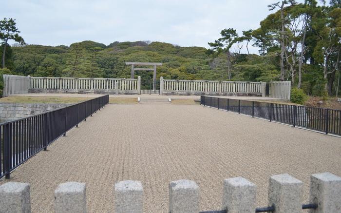 Доступ посетителей на территорию кофуна Дайсен закрыт