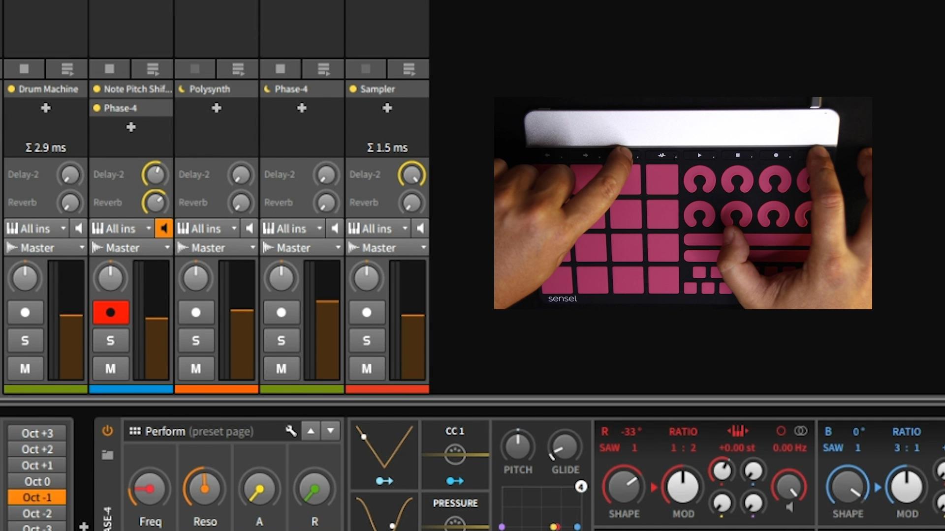 Sensel Announces Free Bitwig Studio 8 Track With Morph