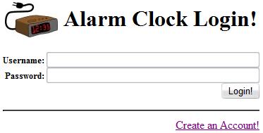 Coding: Online Alarm
