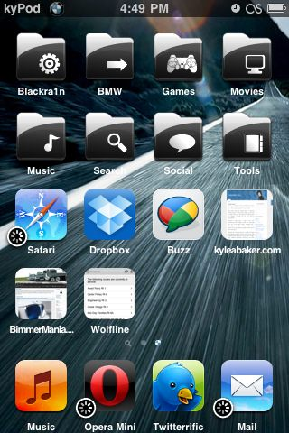 Short Opera Mini for iPhone Gallery