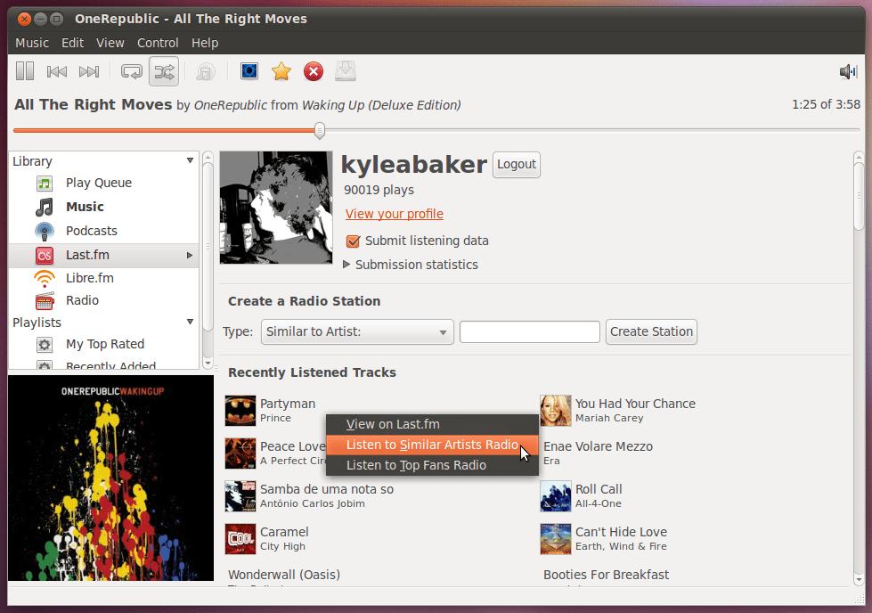 Rhythmbox 0.13.2