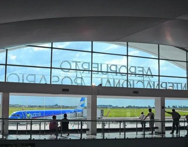 crecimiento. El aeropuerto de Fisherton suma vuelos y conexiones.