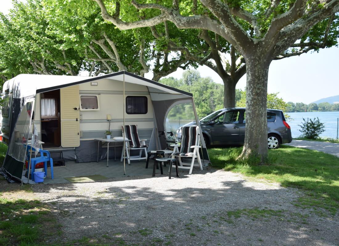 Camping Le Rhone Ex Camping De Tournon Hpa La Drome Tourisme