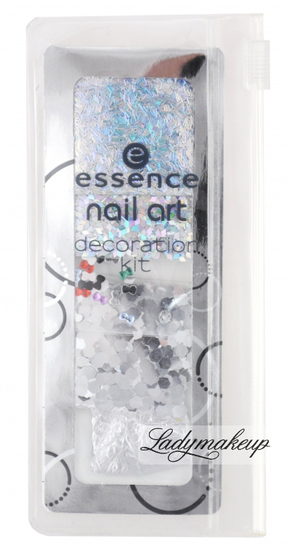 Essence Nail Art Decoration Kit Mini Ozdoby Na Paznokcie