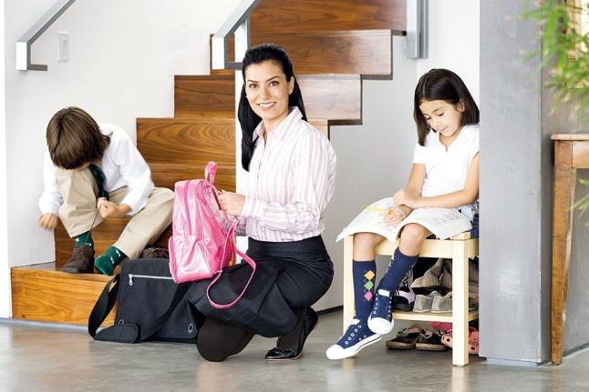 اجعلي صباح أبنائك المدرسي مرحا Laha Magazine