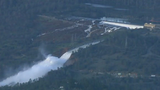 Image result for Evacuations ordered over concerns at California dam system