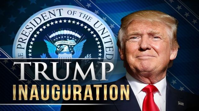 Image result for pictures of trump inauguration