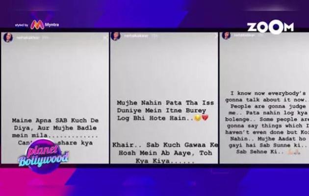 Neha Kakkar in depression after breakup, herself told on social media