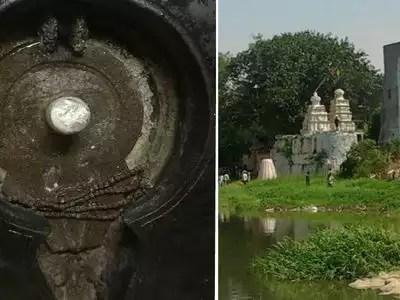 Image result for కిషన్బాగ్ లో మూసీ నది తీరాన్న ఉన్న కాశీ బుగ్గ ఆలయం.