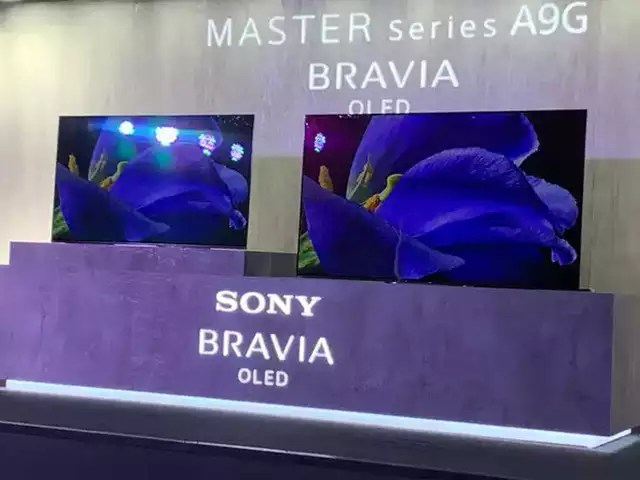 Sony A9G Bravia 4K OLED Android TV launches in India, starting from