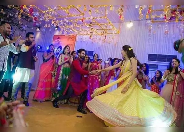 Shahid danced with bride