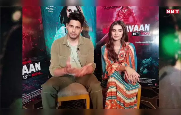 What used to happen between Siddharth Malhotra and Tara Sutaria on the set of 'Marjawan'?