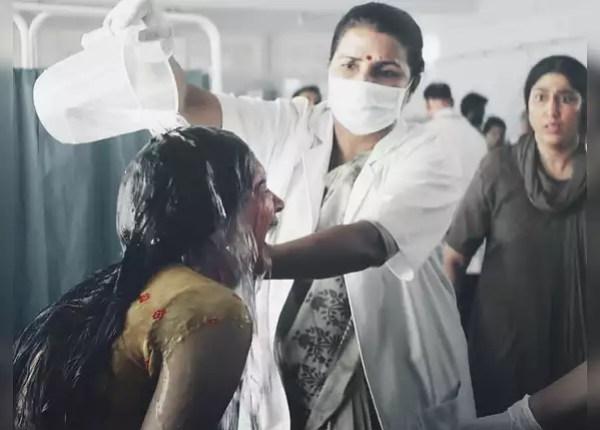 Deepika dominated the role of acid attack survivor