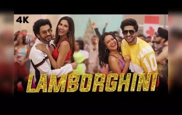 Neha Kakkar and Jassi Gill's Punjabi song 'Lambogini' is in the trend