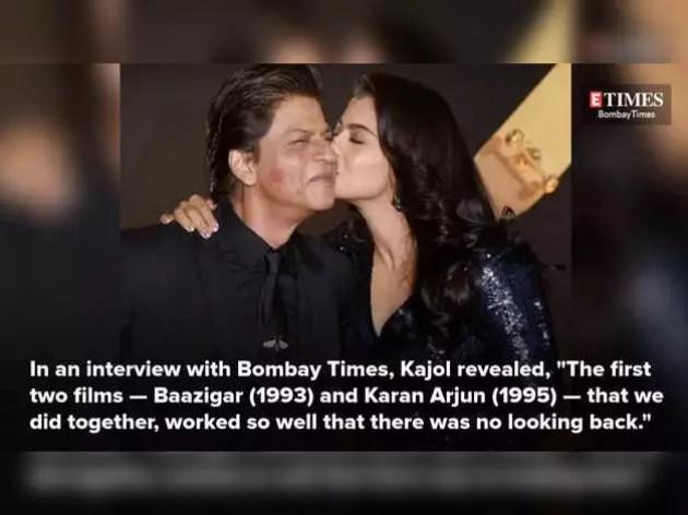 Kajol spoke on the screen chemistry with Shahrukh