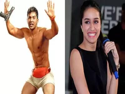 shraddha kapoor shares varun underwear look: shraddha kapoor funny comment on varun dhawan film mr lele poster