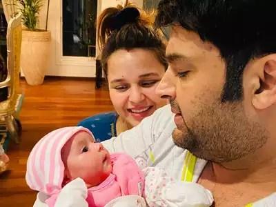 Kapil Sharma: Comedian Kapil Sharma shares daughter's photo, named Anayara – comedian kapil sharma shares cute pictures of daughter anayra sharma
