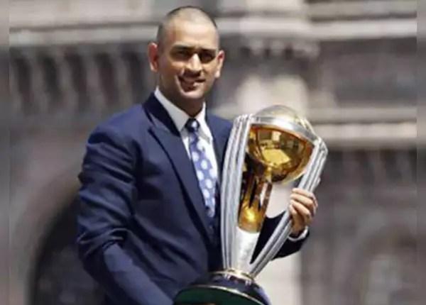 Won World Cup under Dhoni's captaincy