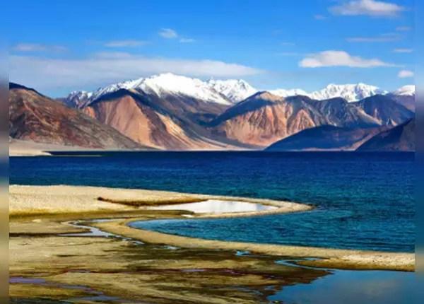 झील के 2 तिहाई हिस्से पर चीन का नियंत्रण
