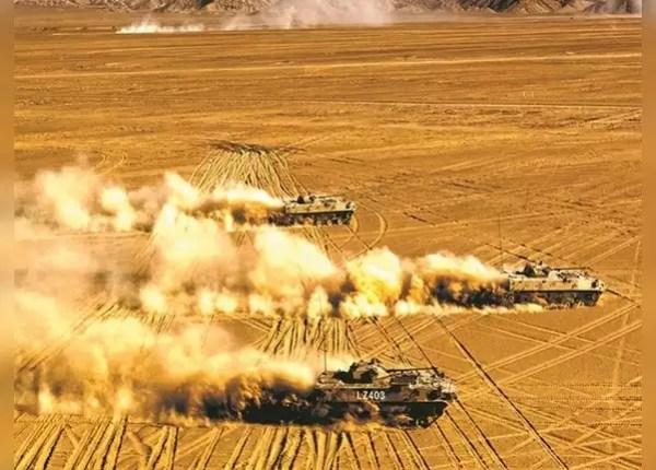 7 जून को भी जारी किया था युद्धाभ्यास का वीडियो