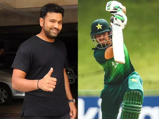 This Pakistani batsman is a fan of Rohit, wants to be told