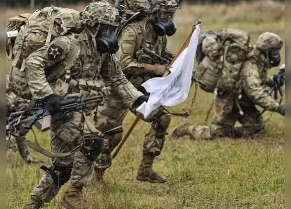 साउथ कोरिया में तैनात है अमेरिकी फोर्स