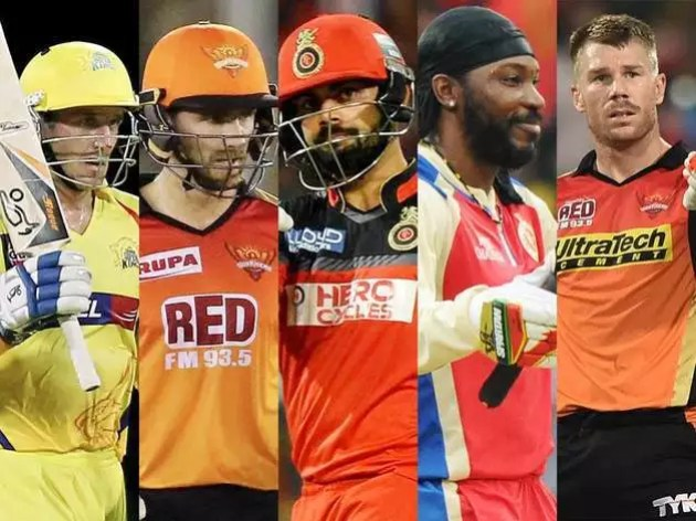The batsmen who scored the most runs in a season of IPL