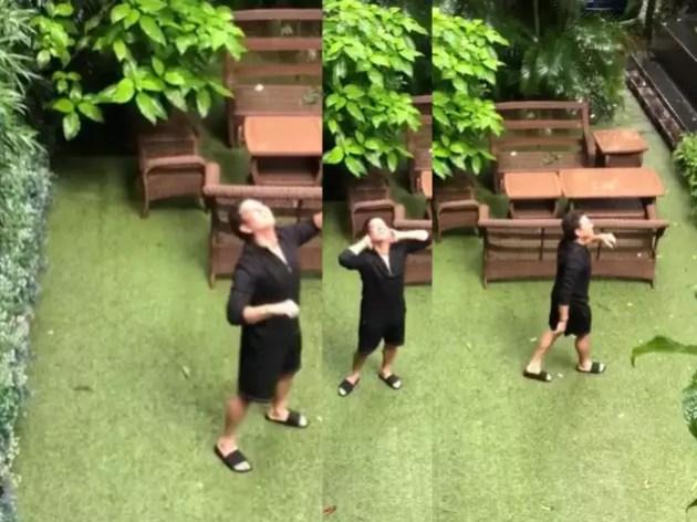 Sachin remembers childhood due to rain drops, shared video