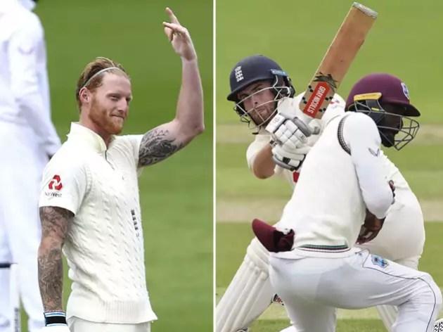 Windies unbeaten ahead of Stokes-Sibley, England score huge