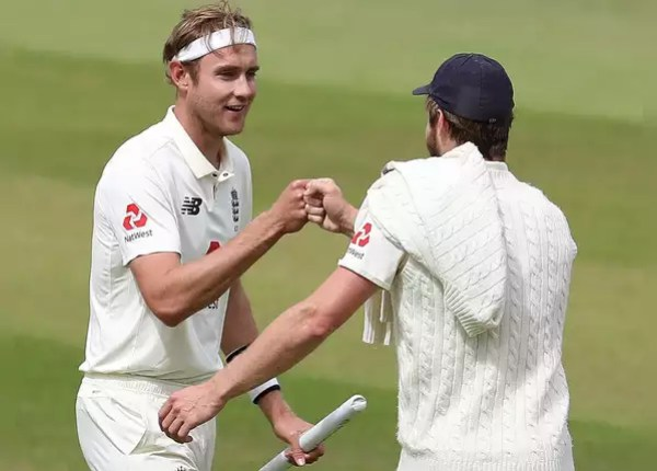 Broad water. 10 wickets in the match