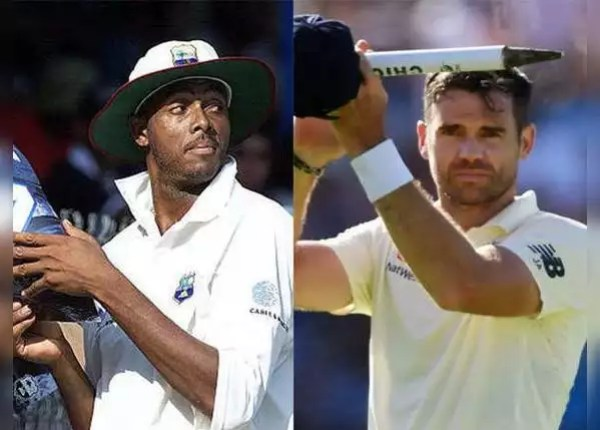 Courtney Walsh (West Indies) and James Anderson (England) - 129 Tests